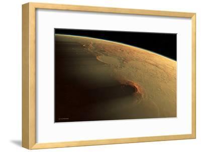 Martian Dust Storm
