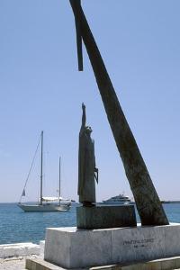 Monument To Pythagoras of Samos by Detlev Van Ravenswaay