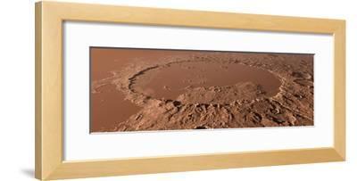 Prehistoric Schiaparelli Crater, Artwork