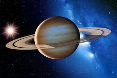Saturn by Detlev Van Ravenswaay
