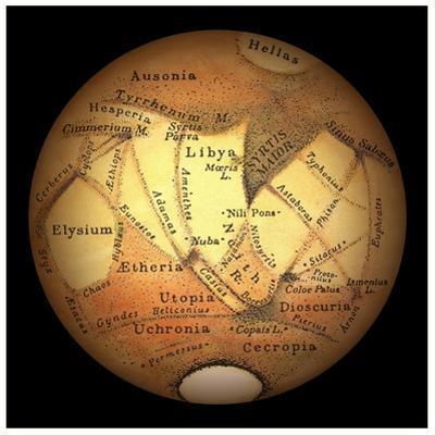 Schiaparelli's Observations of Mars by Detlev Van Ravenswaay