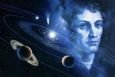 Solar System And Nicolaus Copernicus by Detlev Van Ravenswaay