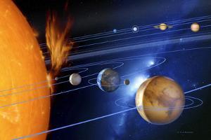 Solar System by Detlev Van Ravenswaay