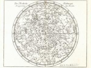 Star Map, 1805 by Detlev Van Ravenswaay