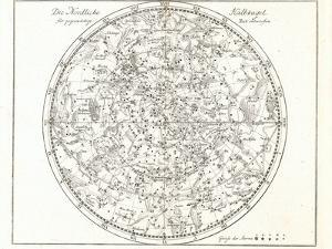 Star Map, 1805 by Detlev Van Ravenswaay