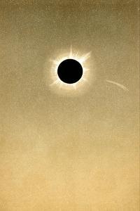 Total Solar Eclipse of 1882 And Comet by Detlev Van Ravenswaay