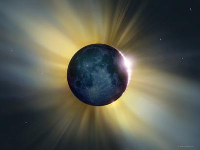 Total Solar Eclipse by Detlev Van Ravenswaay