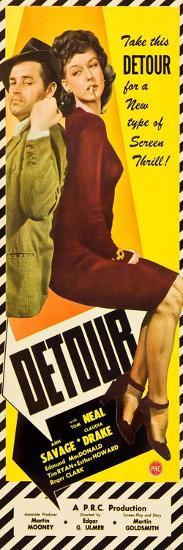 Detour, Tom Neal, Ann Savage, 1945--Art Print