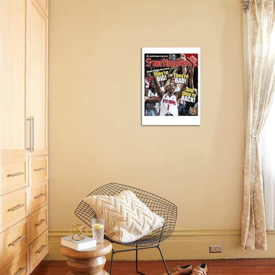 nba room decor.htm detroit pistons g chauncey billups nba champions june 28  2004  detroit pistons g chauncey billups