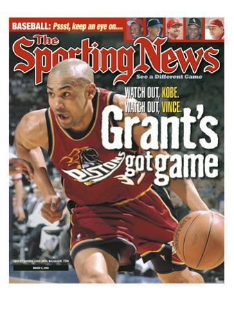 Detroit Pistons' Grant Hill - March 6, 2000