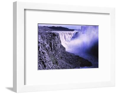 Dettifoss from NE, Iceland, 20th century-CM Dixon-Framed Photographic Print