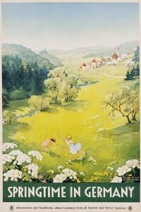 Springtime in Germany Poster by Dettmar Nettelhorst