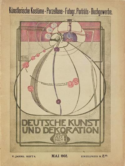Deutsche Kunst Und Dekoration, May 1902-Margaret MacDonald-Giclee Print