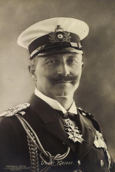 Deutscher Kaiser Wilhelm Ii in Seemannsuniform--Giclee Print