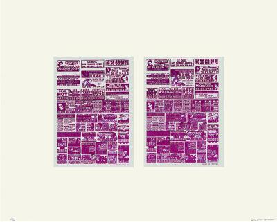 Deux Fois Rose-Huguette Arthur Bertrand-Limited Edition