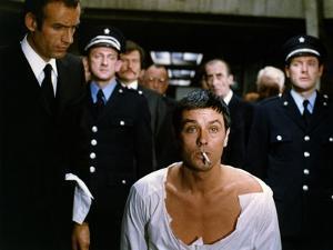 DEUX HOMMES DANS LA VILLE, 1973 directed by JOSE GIOVANNI Alain Delon (photo)
