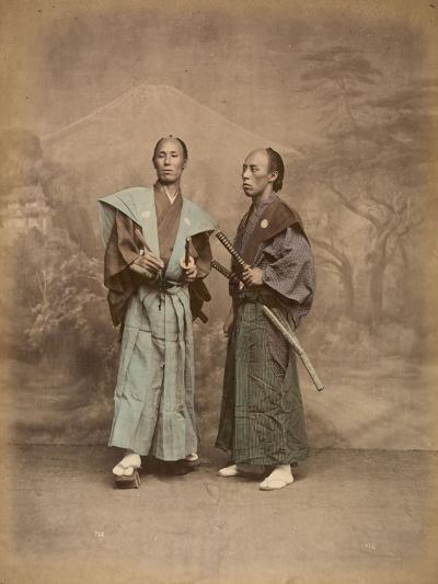 Deux samouraï--Giclee Print