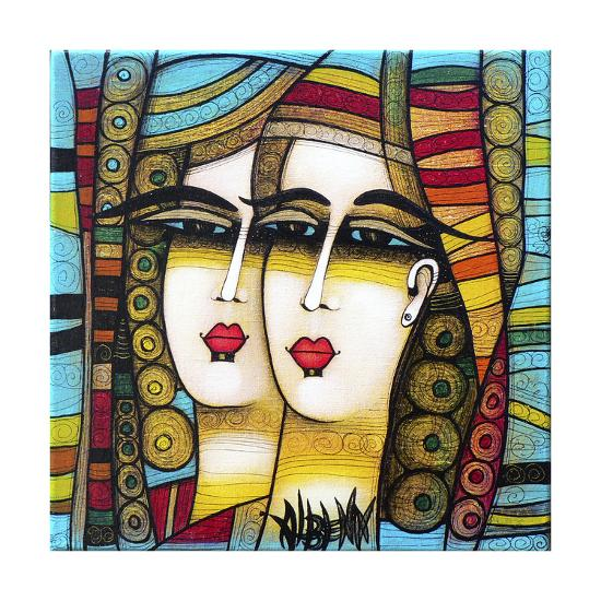 Deux Soeurs 1-Albena Vatcheva-Giclee Print