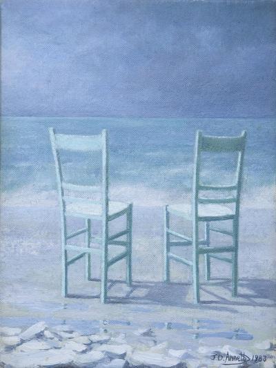 Deux (Two)-Jeremy Annett-Giclee Print