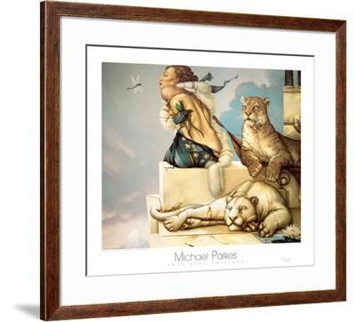 Deva-Michael Parkes-Framed Art Print