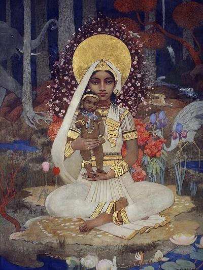 Devaki, Mother of Krishna-Marianne Stokes-Giclee Print