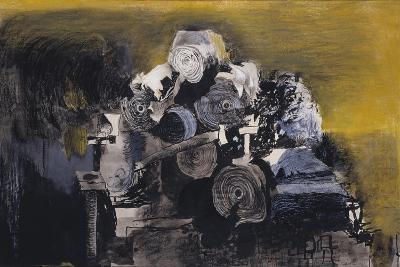 Devastation, 1941: East End, Burnt Paper Warehouse-Graham Sutherland-Giclee Print