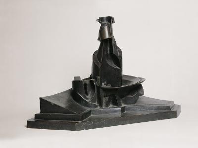 Development of a Bottle in Space-Umberto Boccioni-Photographic Print