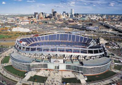 Dever Broncos- New Invesco Field