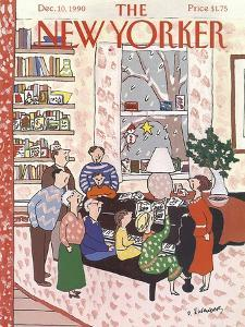 The New Yorker Cover - December 10, 1990 by Devera Ehrenberg