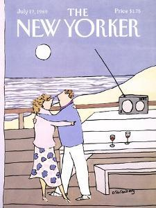 The New Yorker Cover - July 17, 1989 by Devera Ehrenberg