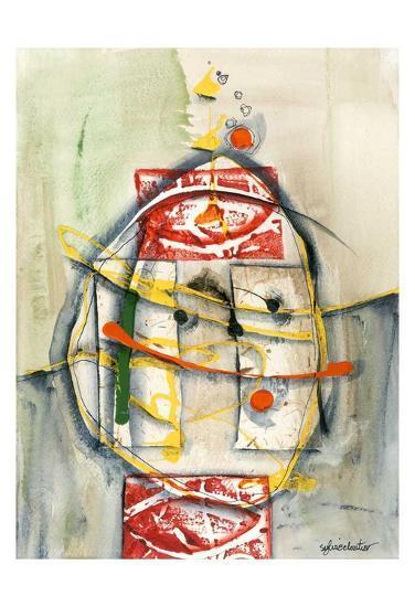 Déversement-Sylvie Cloutier-Art Print