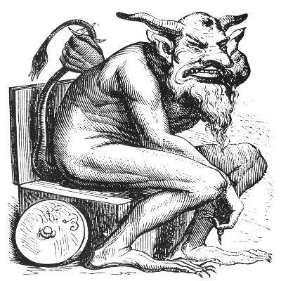 Devil: Belphegor--Giclee Print