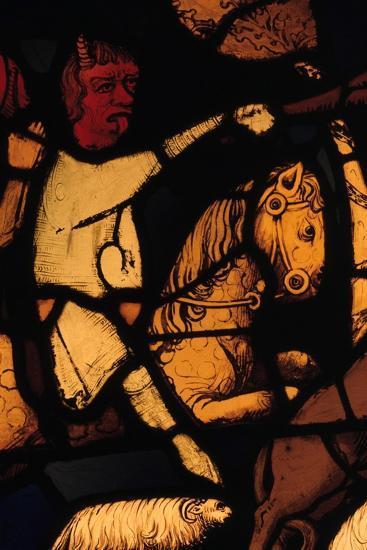 Devil on a Horse, (Detail)--Giclee Print