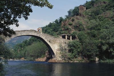 Devil's Bridge or Bridge of Roch--Giclee Print
