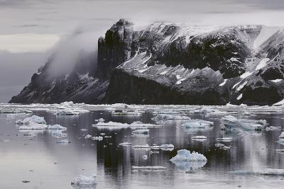 Devil's Island and Floating Ice in the Weddell Sea-Jim Richardson-Photographic Print