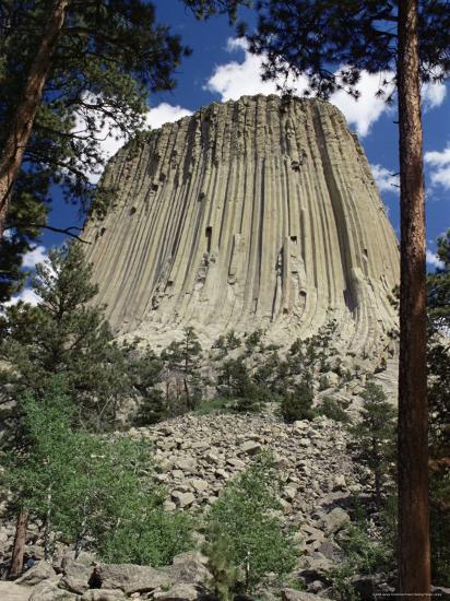 Devil's Tower, Devil's Tower National Monument, Wyoming, United States of America, North America-James Emmerson-Photographic Print