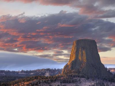 Devils Tower National Monument, Wyoming, USA-Jamie & Judy Wild-Photographic Print