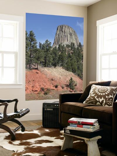 Devils Tower National Monument, Wyoming-Stocktrek Images-Wall Mural