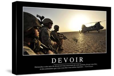 Devoir: Citation Et Affiche D'Inspiration Et Motivation