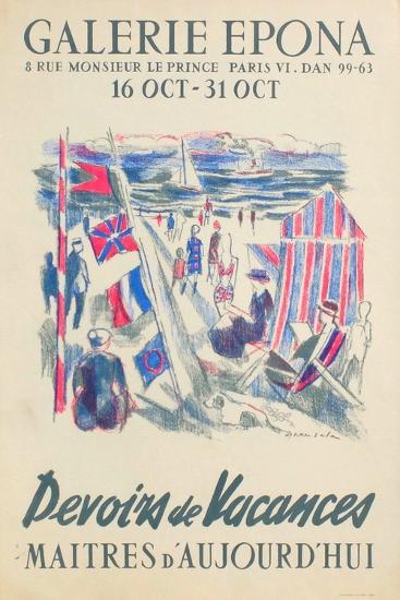 Devoirs De Vacances-Emilio Grau-Sala-Collectable Print