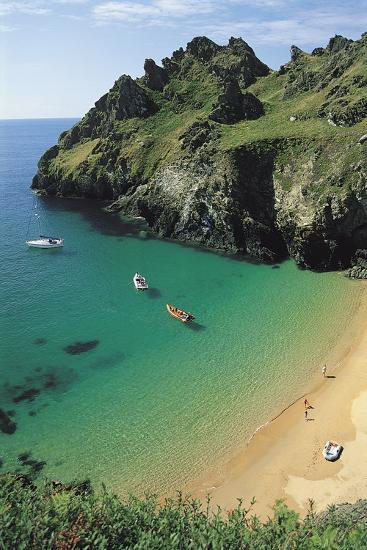 Devon Coast, England, United Kingdom-Duncan Maxwell-Photographic Print