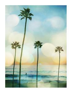 Sunset Surfer by Devon Davis