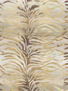 Gilded Zebra Print by Devon Ross