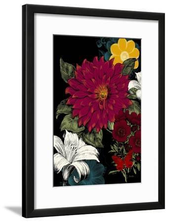 Vibrant Florals Black 1