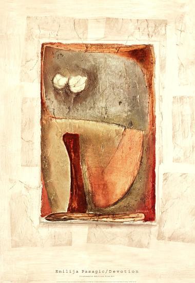 DEVOTION-Emilija Pasagic-Art Print