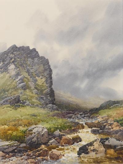 Dewerstone, Dartmoor , C.1895-96-Frederick John Widgery-Giclee Print