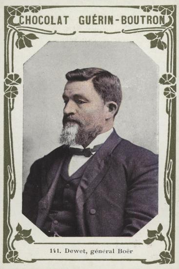 Dewet, General Boer--Giclee Print