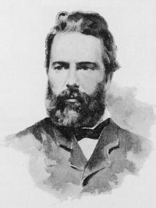 Herman Melville American Writer by Dewey