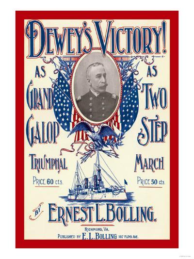 Dewey's Victory--Art Print