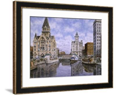 Dewitt Clinton Square, Ca. 1907, Syracuse Ny-Stanton Manolakas-Framed Giclee Print